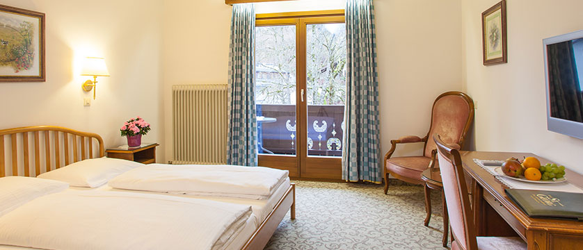 Landhotel St. Georg, Zell am See, Austria - double bedroom with balcony.jpg